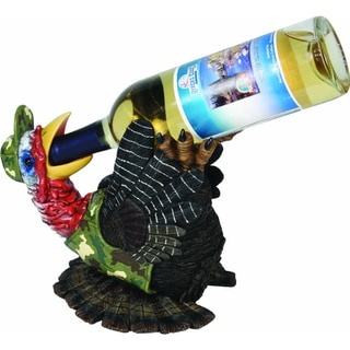 Rivers Edge Hand-painted Turkey Wine Bottle Holder