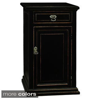 June Wooden Nightstand with Top Drawer