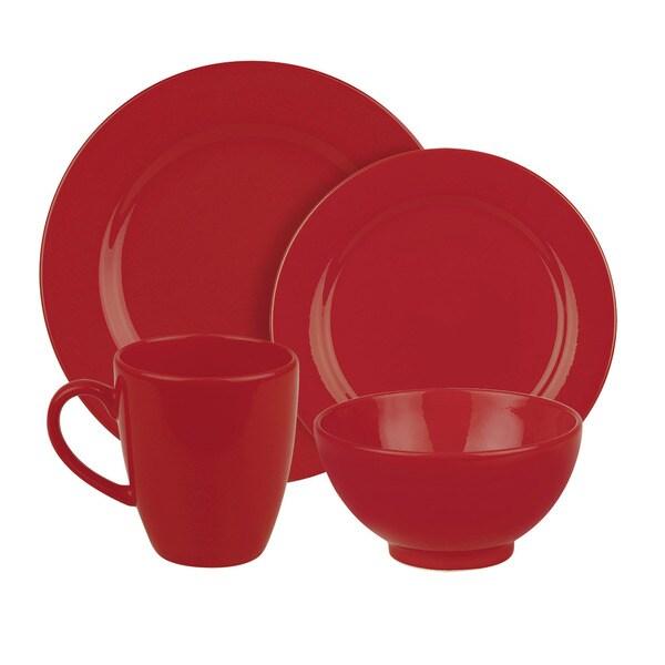 Waechtersbach Fun Factory Red 16-piece Dinnerware Set