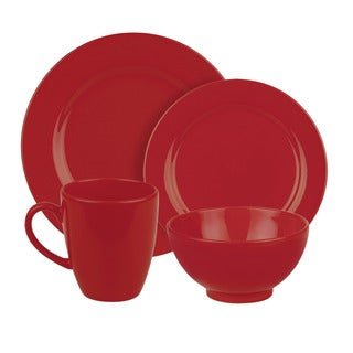 Weachtersbach Fun Factory Red 16-piece Dinnerware Set