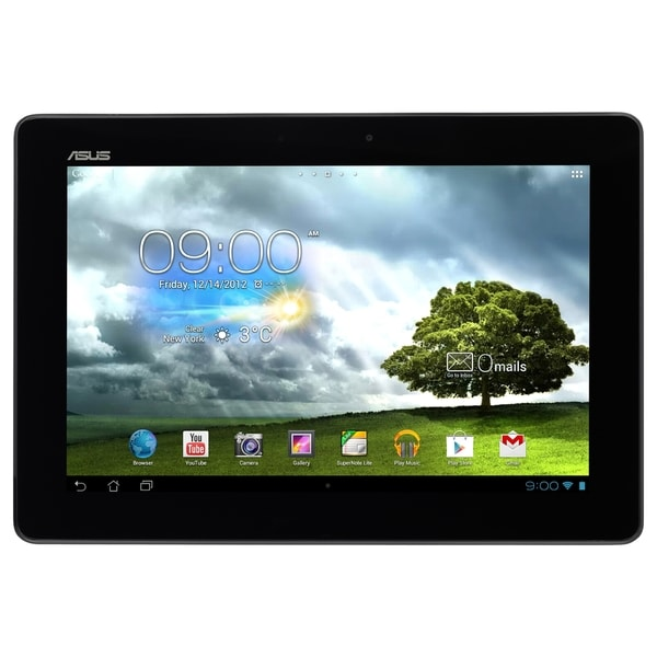 "Asus MeMO Pad Smart ME301T-A1-WH 16 GB Tablet - 10.1"" - In-plane Swit"