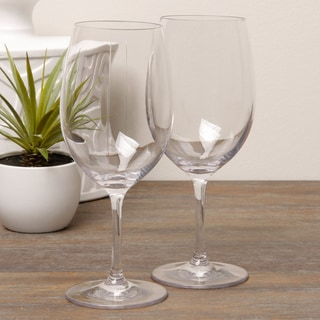 Diligence4us Tritan 20-ounce Wine Glasses (Set of 6)