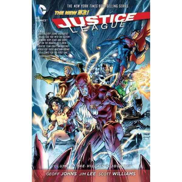 Justice League 2: The Villain's Journey (Paperback)