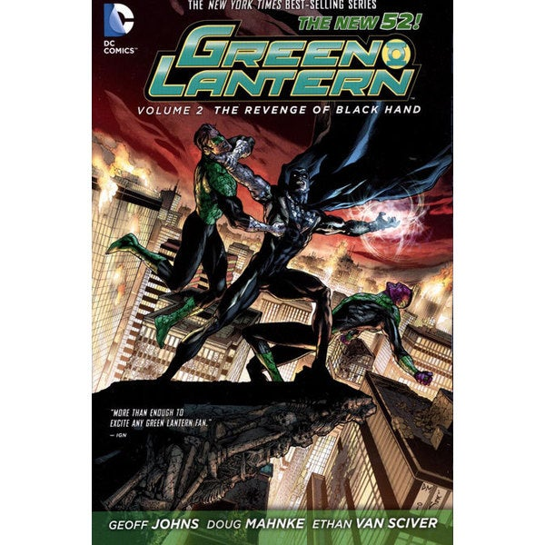 Green Lantern 2: The Revenge of Black Hand  (Paperback) 10927896