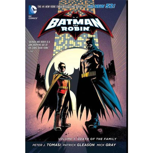 Batman and Robin 3: Death of the Family (Hardcover) 10927936