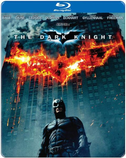 The Dark Knight Steelbook (Blu-ray Disc)