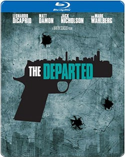 The Departed Steelbook (Blu-ray Disc)