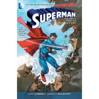 Superman 3: Fury at World's End (The New 52) (Hardcover)