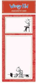 Diary of a Wimpy Kid Red Magnetic Pad (Notebook / blank book)