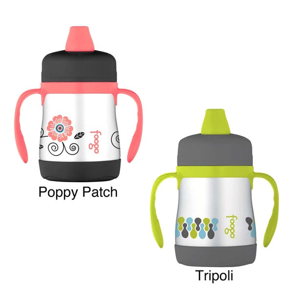 Foogo Thermos Phases Leak-Proof Stainless Steel Sippy Cup with Handles