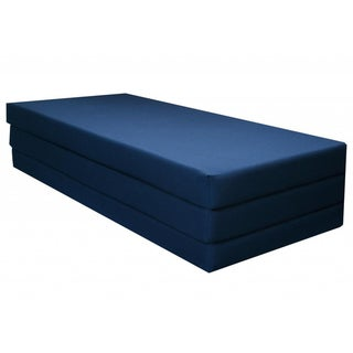 Navy Blue Full Size 77-inch  Camping / Exercise Mat