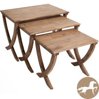 Christopher Knight Home Melody Acacia Wood Nesting Tables (Set of 3)