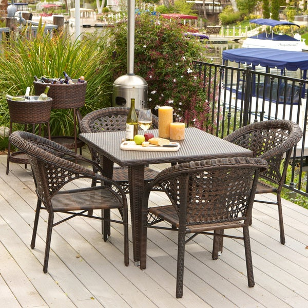 Christopher Knight Home River 5-piece Outdoor Dining Set