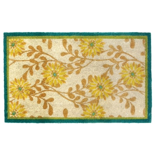 Happy Sunflower Door Mat 14961431 Overstock Com