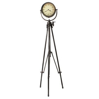 Casa Cortes Large Studio Tripod Floor Clock