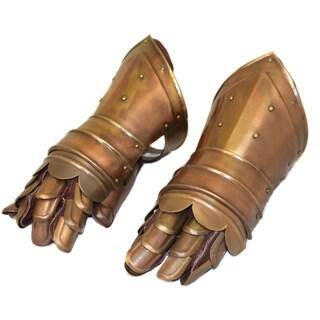 Casa Cortes Medieval Antique Gauntlet Gloves Replica (2-piece Set)