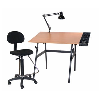 Offex Berkeley Four-piece Drafting Table Set