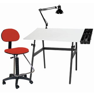 Offex Berkeley 4-pc Drafting Table Set