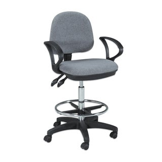 Offex Vesuvio Grey Drafting Chair