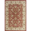 Alliyah Hand-made Soft Red Persian New Zealand Wool Rug (9' x 12')
