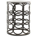 'Circles' Metal Barrel Table