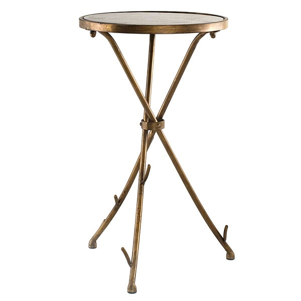 Solid Granite Top Coffee Table: Solid Stone Top Stick End Table
