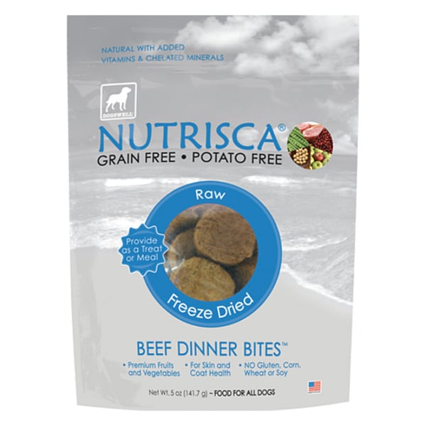 Nutrisca Freeze Dried 5-ounce Dinner Bites