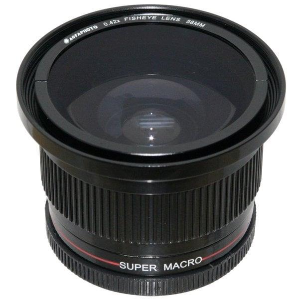 AGFA 0.42X Super Macro Fisheye Lens 58/ 52mm APFE4258