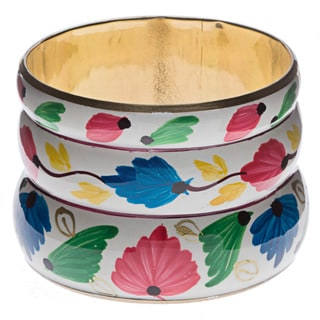 Handpainted Bangle Bracelet (India)