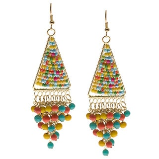 Multicolor Dangle Earrings (India)