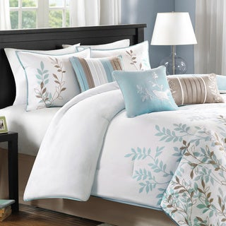 Madison Park Amber Cotton Sateen 7-piece Comforter Set