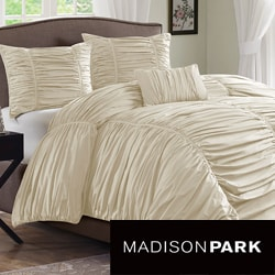 Madison Park Newport Cotton 4-piece Comforter Set