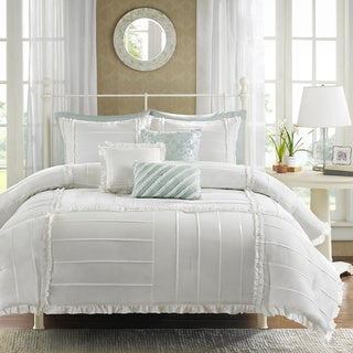 Madison Park Holly Cotton 6-piece Duvet Cover Set