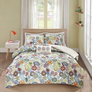 The Curated Nomad Stanyan 4-piece Duvet Cover Set
