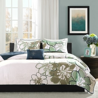 Mi Zone Skylar 4-piece Quilt Set