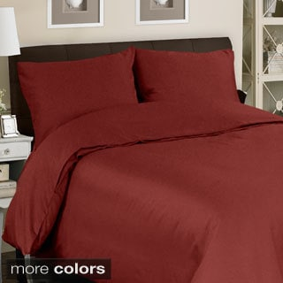 Grand Luxe Egyptian Cotton Sateen 500 Thread Count 3-piece Mini Duvet Cover Set