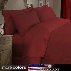 Grand Luxe Egyptian Cotton Sateen 500 Thread Count 4-piece Comforter Set