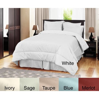 Grand Luxe Egyptian Cotton Sateen 500 Thread Count 4-piece Comforter Set