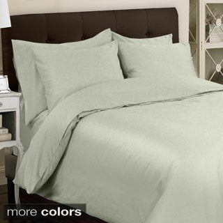Grand Luxe Egyptian Cotton Sateen 300 Thread Count 6-piece Duvet Cover Set