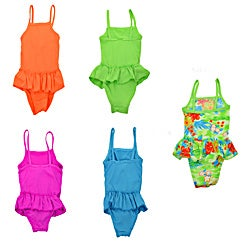 LA77 Girls' 1-piece Swimsuit