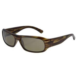Serengeti Unisex 'Genova' Dark Stripe Tortoise Sunglasses