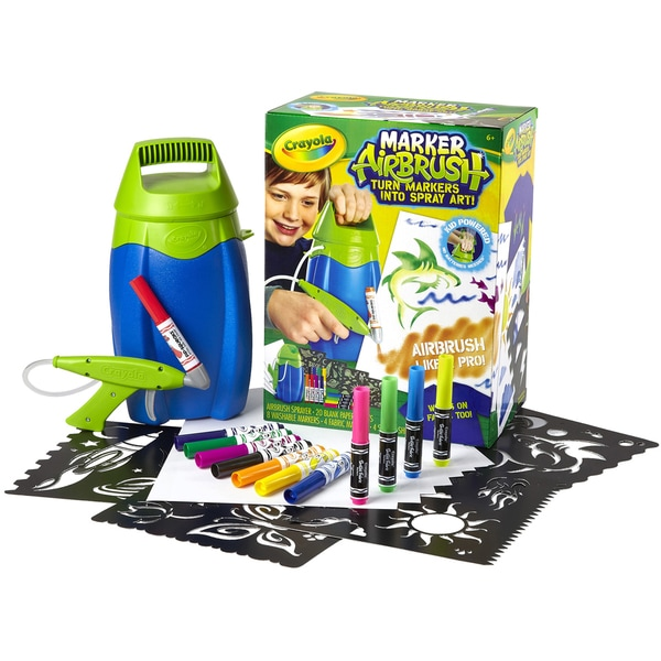 Crayola Marker Airbrush Kit