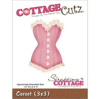 Cottagecutz Die 3X3in-Corset