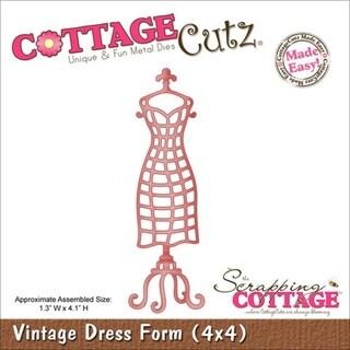 Cottagecutz Die 4X4in-Vintage Dress Form