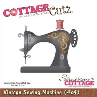 Cottagecutz Die 4X4in-Vintage Sewing Machine