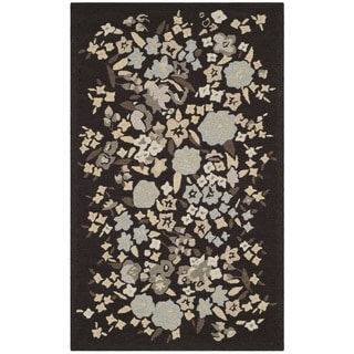 Martha Stewart Watercolor Garden Inkwell Wool Rug (2'6 x 4'3)