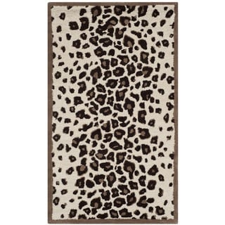 Martha Stewart Kalahari Sequoia Brown Wool/ Viscose Rug (2'6 x 4'3)
