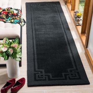 Martha Stewart Deco Frame Phantom Wool Rug (2'3 x 8')