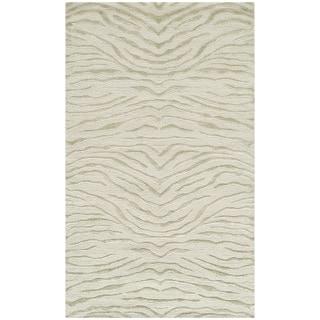 Martha Stewart Journey River Silk/ Wool Rug (3'9 x 5'9)