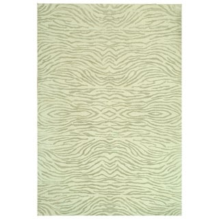 Martha Stewart Journey River Silk/ Wool Rug (5'6 x 8'6)